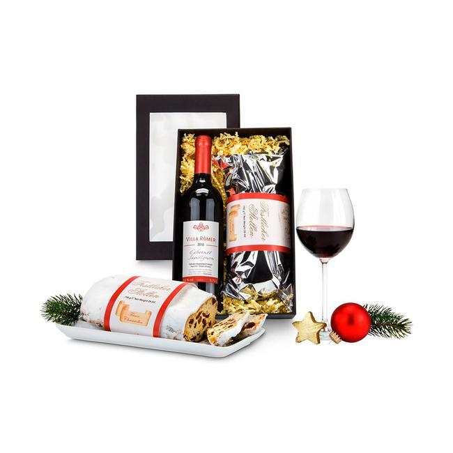 """Geschenkset """"Rode wijn & stol"""""""