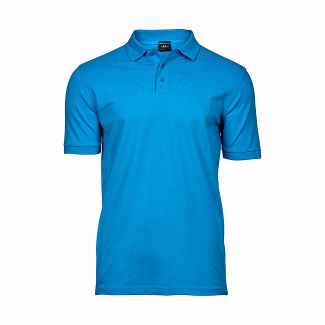 Heren Tee Jays Heavy Luxus Pique Strech Polo