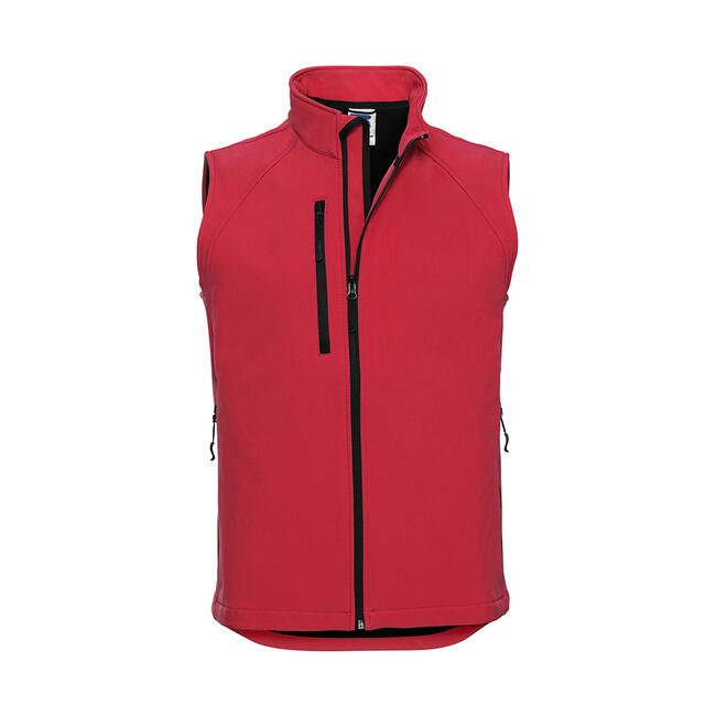 Heren 3-laags softshell vest
