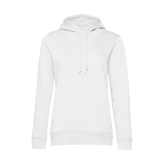 Damen Organic Hoodie Sweater