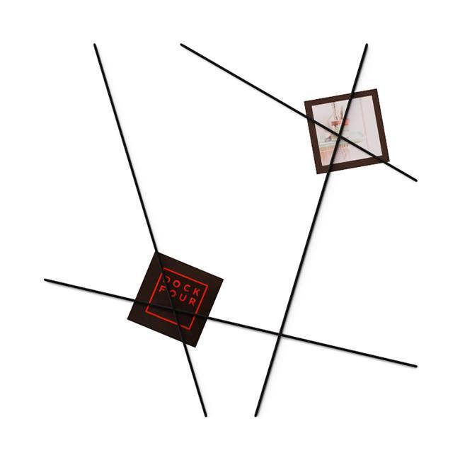FlexiDeco-functional / presentatiebanden, zwart