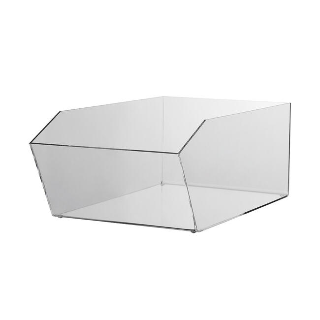 Artikelbox van acrylglas, rechthoekig