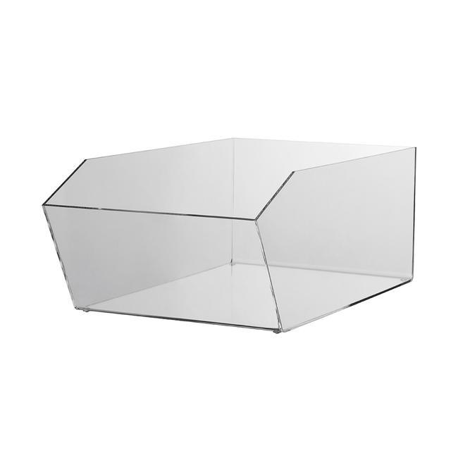 Versoir en verre acrylique, rectangulaire