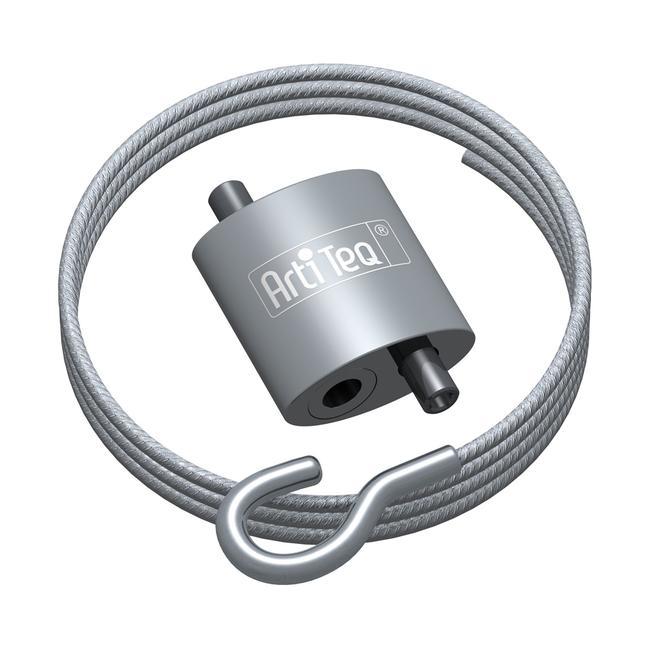 Pince à oeillets pour câble d'acier 1,2 mm, inclus