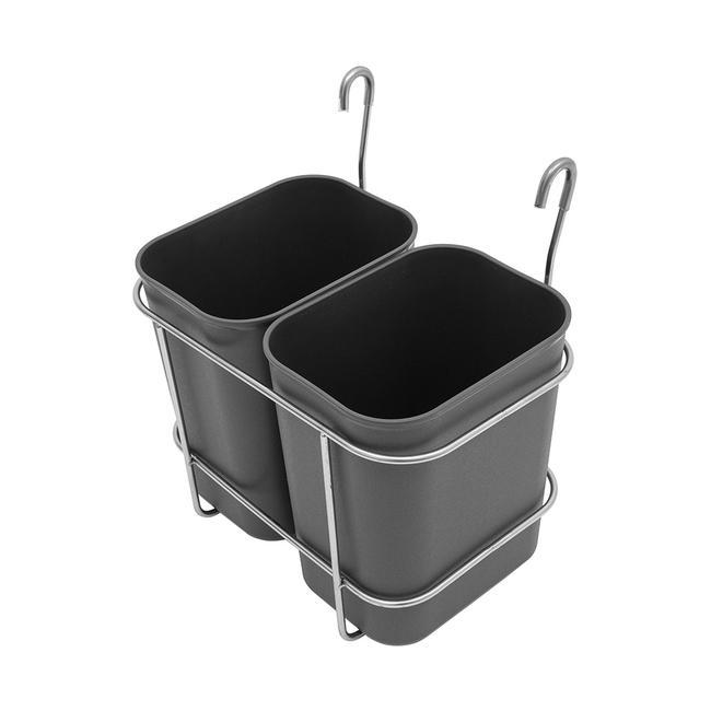 Afvalbakhouder voor serveerwagen