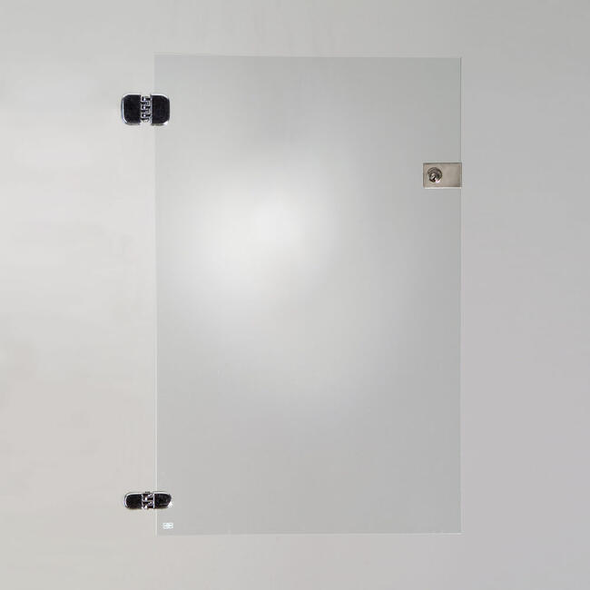 Glazen deur voor zelfbouw vitrine