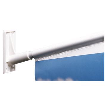 Vlaggenhouder van kunststof, ø 18,5 mm voorzien van foamtape