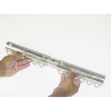 "Bannerframe-steeksysteem aluminium ""Verbindingsbuis"""