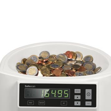 Safescan 1250  muntentel- en sorteermachine