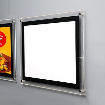 "LED acrylframe ""Light"""