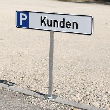 Staander voor parkeerborden