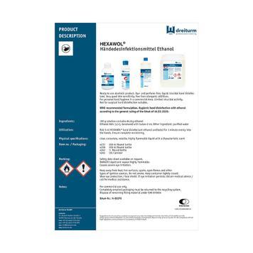 Hexawol® handdesinfectie