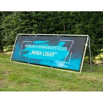 """Mobiele A-bannerstandaard """"Moba Light"""""""