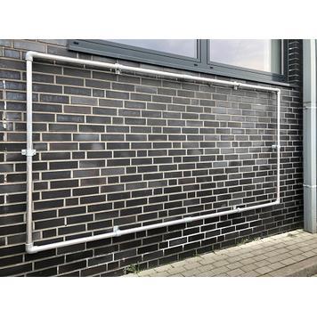 "Bannerframe-steeksysteem alu budget ""Wall"""