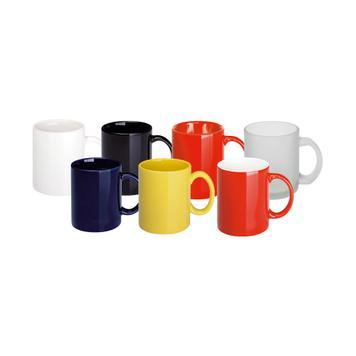 "Keramische koffiebeker ""Carina"" in verschillende kleuren"