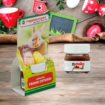 Nutella in reclame-verpakking