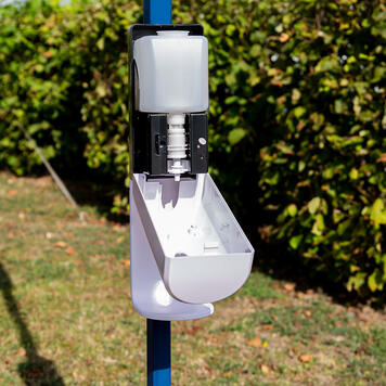 Sensor-Wall - uitbreidingsset desinfectiedispenser voor tenten en buizen
