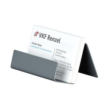 Visitekaartenstandaard │ metaal