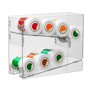 Dispenser voor kruiden- en conservenblikken