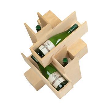 """Tafelmodel wijndisplay """"Blanc de Blanc"""""""