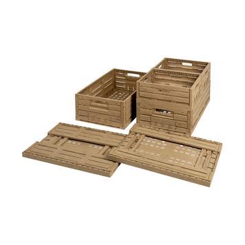 Klapkrat met houtlook