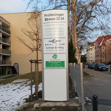 """Infozuil """"Frankfurt"""" │ voor buiten"""
