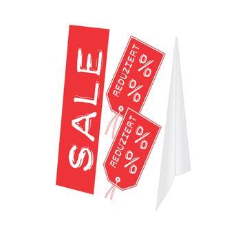"""Dakstandaard """"Sale"""""""