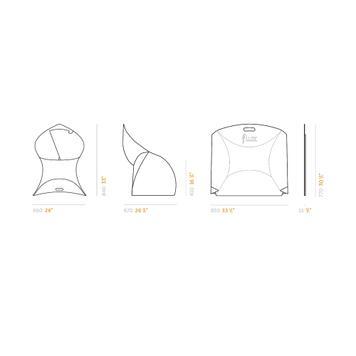"""""""Flux Chair"""" │ de opvouwbare stoel"""
