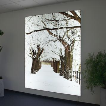 "Digitaldruck ""Winterlandschaft"""