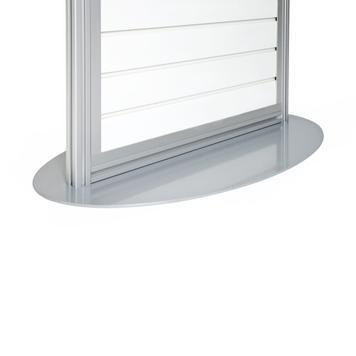 """FlexiSlot® display """"Quattro-Ellipse"""""""