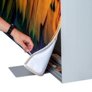 """LED stretchframe """"Lumos"""" - 100 mm, dubbelzijdig"""
