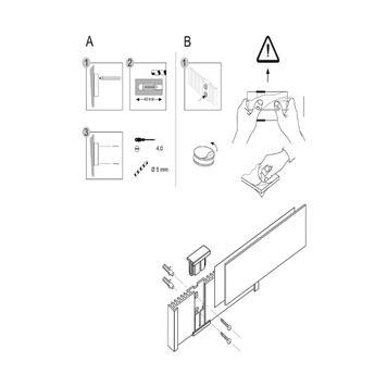 """Papierinleg voor deurbordje """"Info-Sign"""""""