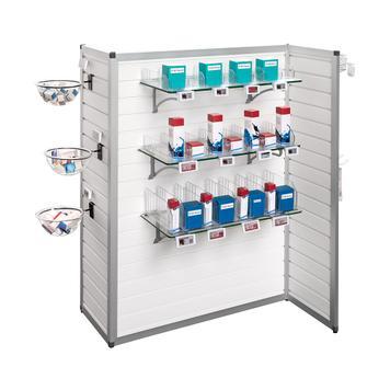 """FlexiSlot® vrijstaande display """"Construct Z"""""""