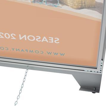 Stretchframe A-bord