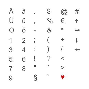 Indoor letterverlichting