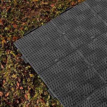 """Kunststof vloerdelen """"Terraguide©"""" voor promotietenten"""